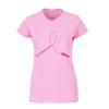 DRIVE 4 CURE TEE - PINK