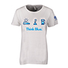 LADIES THINK BLUE TEE