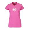 LADIES BASIC TEE - PINK