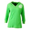 VW HOOD TEE - LIME