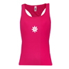 LADIES DAISY TANK-BERRY