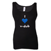 LADIES V-DUB LOVE TANK