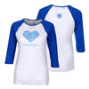 LADIES LUV TEE-BLUE