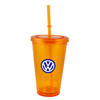 TO GO TUMBLER - ORANGE