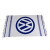 VW JUMBO FRINGED TOWEL